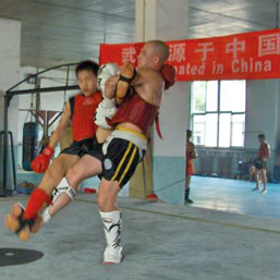 Martijn Luijten Sanda Training in Beijing