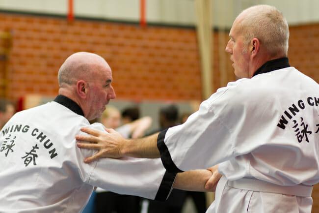 Wing Chun Kung Fu ook voor 30 plussers