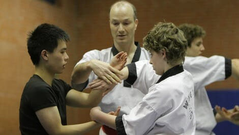 Wing Chun Training in Den Haag